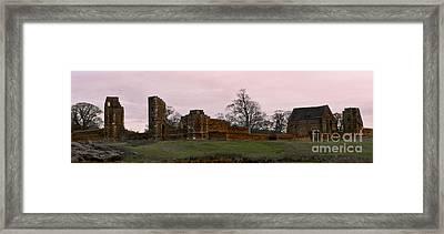 Sunrise Over Bradgate Framed Print by Linsey Williams
