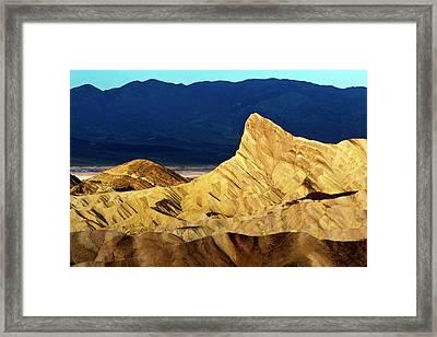 Sunrise Over Death Valley Framed Print by Babak Tafreshi
