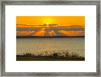 Sunrise Over Fairhaven Framed Print