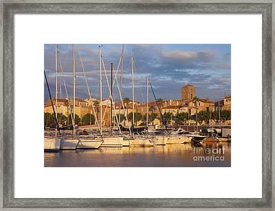 Sunrise Over La Ciotat France Framed Print by Brian Jannsen