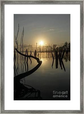 Sunrise Over Manasquan Reservoir II Framed Print