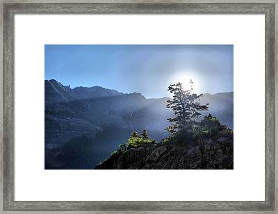 Sunrise Over Ouray Framed Print