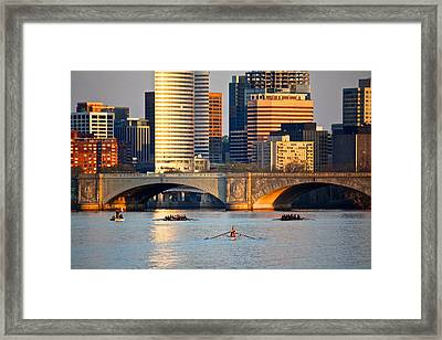 Sunrise Over Rosslyn Framed Print