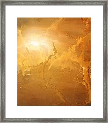 Sunrise Over The Dunes Framed Print by Kume Bryant