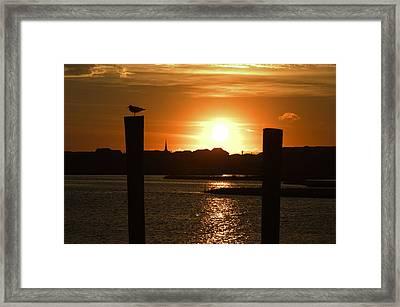 Sunrise Over Topsail Island Framed Print by Mike McGlothlen