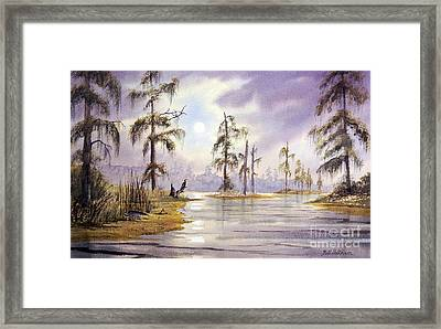 Sunrise Over Wakulla River Framed Print by Bill Holkham