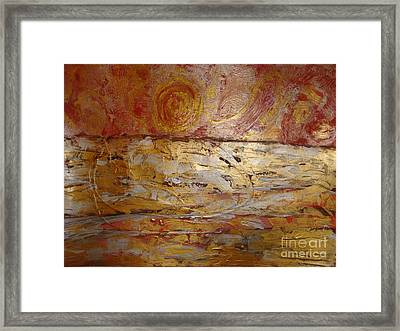 Sunrise. Pacific Ocean  Framed Print