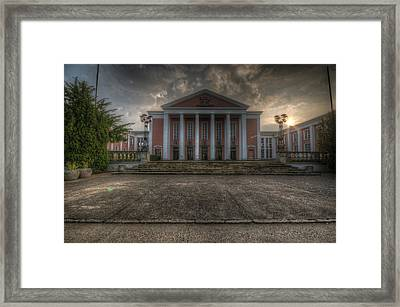 Sunrise Palace Framed Print by Nathan Wright
