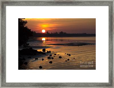 Framed Print featuring the photograph Sunrise Photograph by Meg Rousher