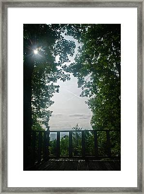 Sunrise Portal Framed Print