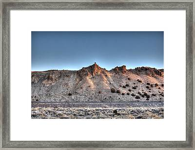 Sunrise Railroad Framed Print by Dave Garner