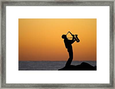 Sunrise Serenade Two Framed Print