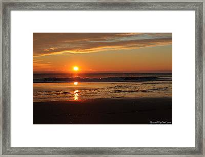 Sunrise Serenity Framed Print
