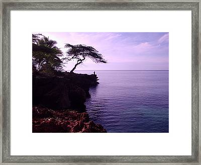 Sunrise Silhouette Framed Print by Marianne Miles