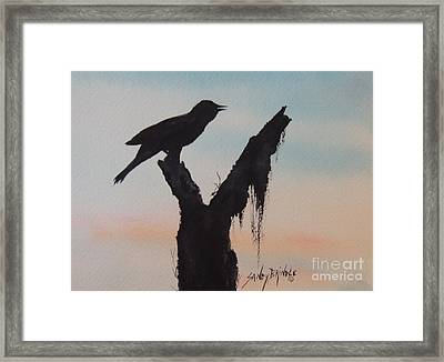 Sunrise Singer Framed Print