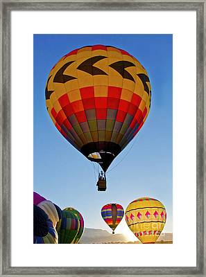 Sunrise Spectacular Framed Print