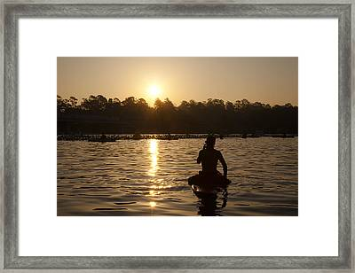 Sunrise Start Framed Print