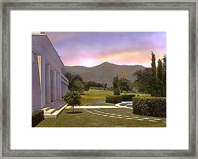 Sunrise Framed Print by Terry Reynoldson