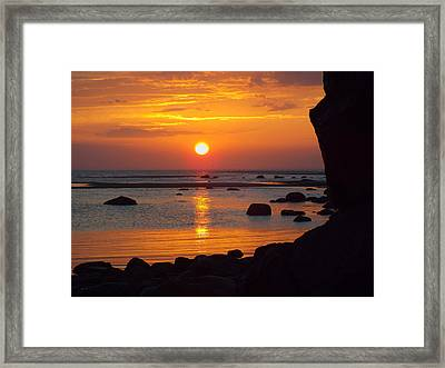 Sunrise Therapy Framed Print by Dianne Cowen