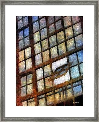 Sunrise Tilt Framed Print