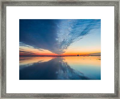 Sunrise V Framed Print