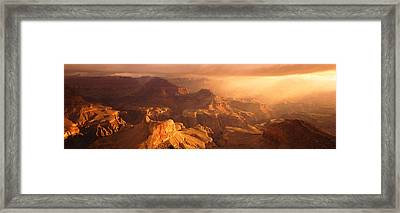 Sunrise View From Hopi Point Grand Framed Print by Panoramic Images