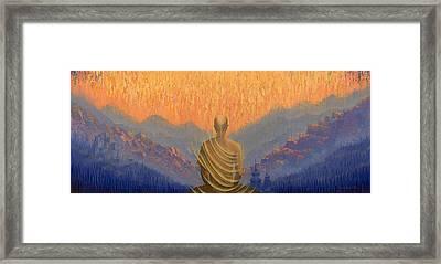 Sunrise Framed Print by Vrindavan Das