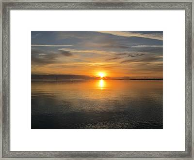 Framed Print featuring the photograph Sunrise With God by Joetta Beauford