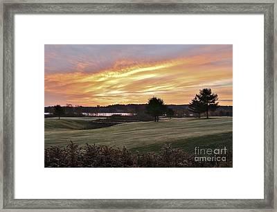Sunrised Framed Print