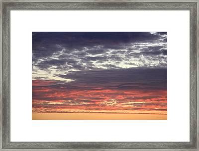 Sun's Last Reflection Framed Print