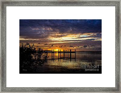 The Day That Was Framed Print by Rene Triay Photography