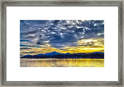 Sunset 001 Framed Print