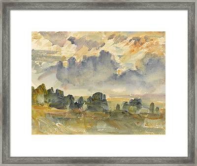 Sunset, 1915 Framed Print by Philip Wilson Steer