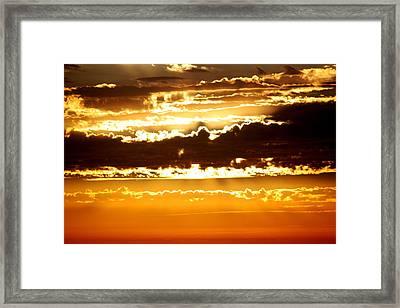 Sunset 2 Framed Print by Ashley Balkan