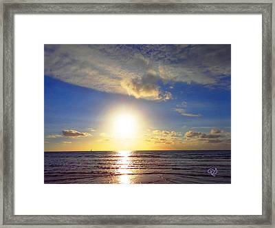 Sunset 2 Framed Print