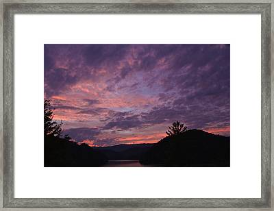 Sunset 2013 Framed Print
