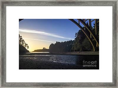 Sunset  2.2812 Framed Print by Stephen Parker