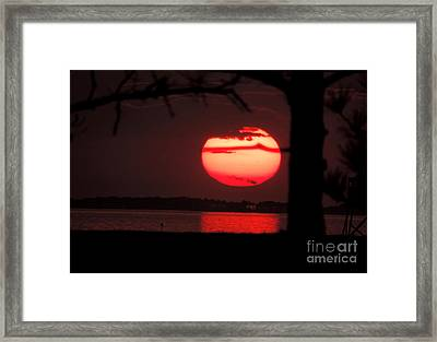 Sunset 3 Framed Print by Stephanie Kendall