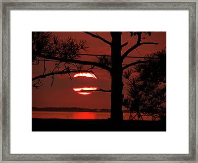 Sunset 4 Framed Print by Stephanie Kendall