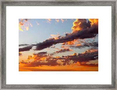 Sunset 5 Framed Print by Ashley Balkan