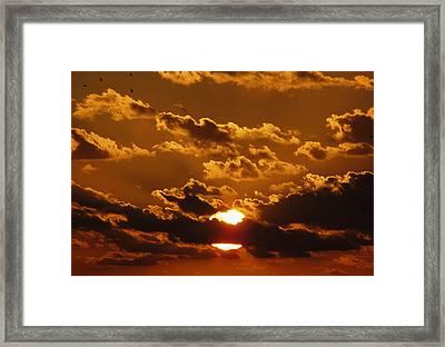 Sunset 5 Framed Print by Bob Slitzan