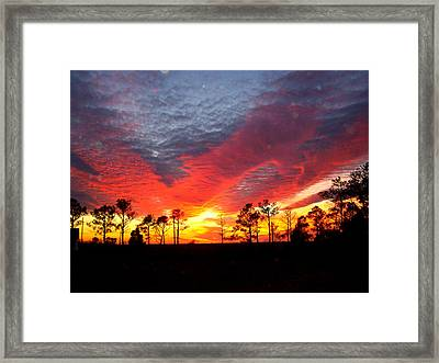 Sunset 5 Framed Print by Stephanie Kendall