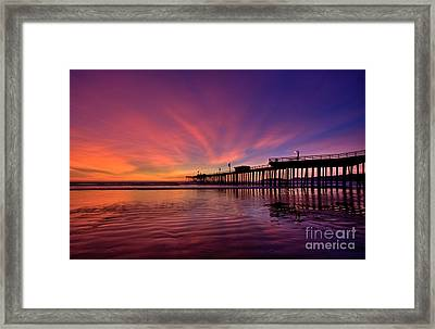 Sunset Afterglow Framed Print