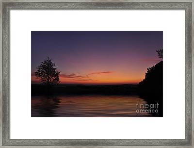 Sunset Framed Print by Aged Pixel