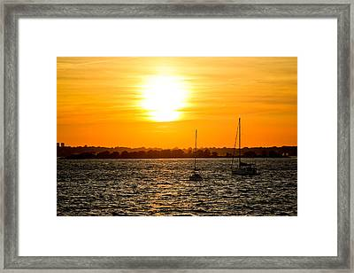 Sunset  Framed Print by Allan Millora Photography