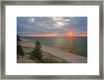 Sunset At Beaver Creek Framed Print