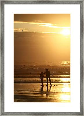 Sunset At Cannon Framed Print