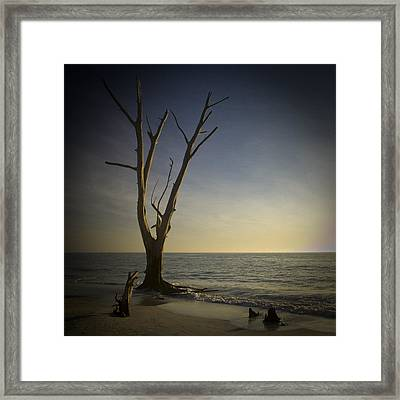 Sunset At Lovers Key Framed Print