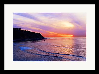 Palos Verdes Cove Framed Prints