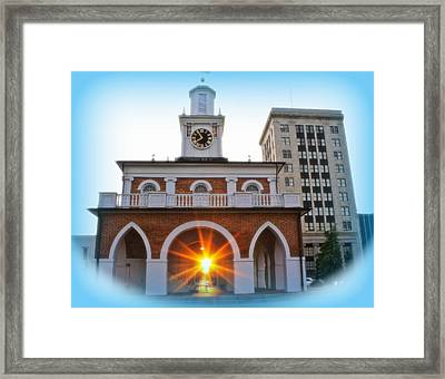 Historic 1 Framed Print